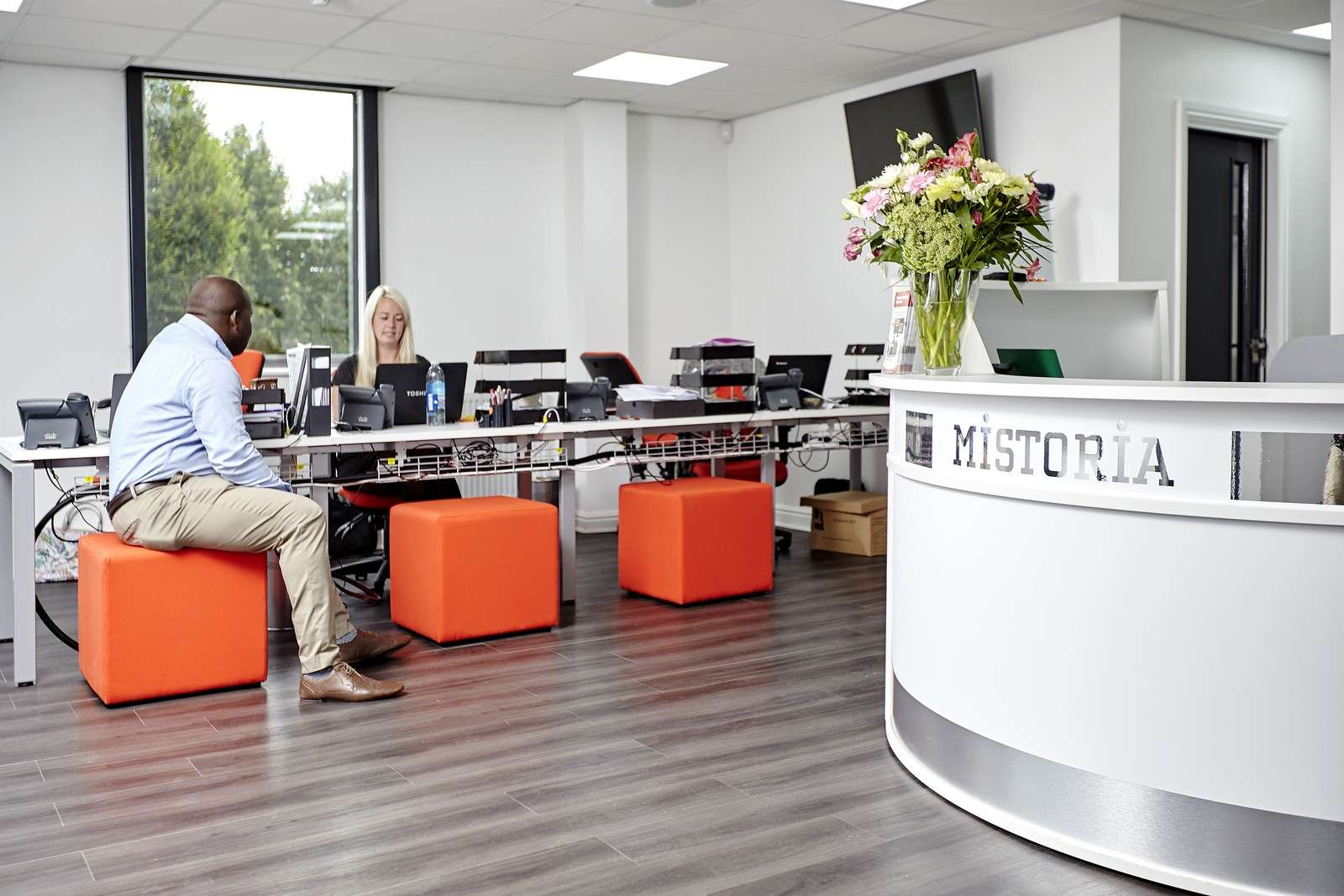 The Mistoria Group Office Renovation, Salford